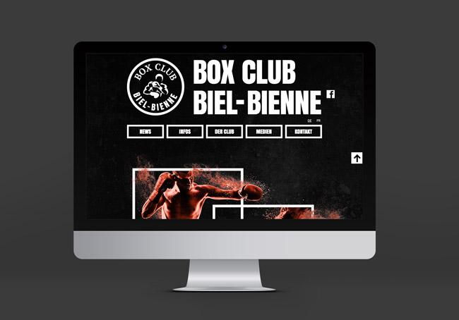 Boxclub Biel Webseite