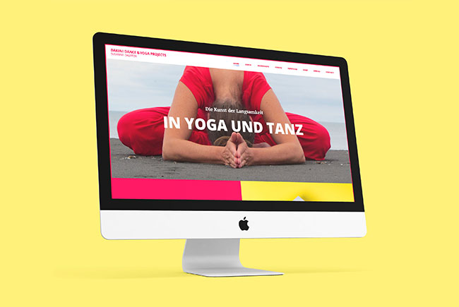 Dakini Dance Webdesign