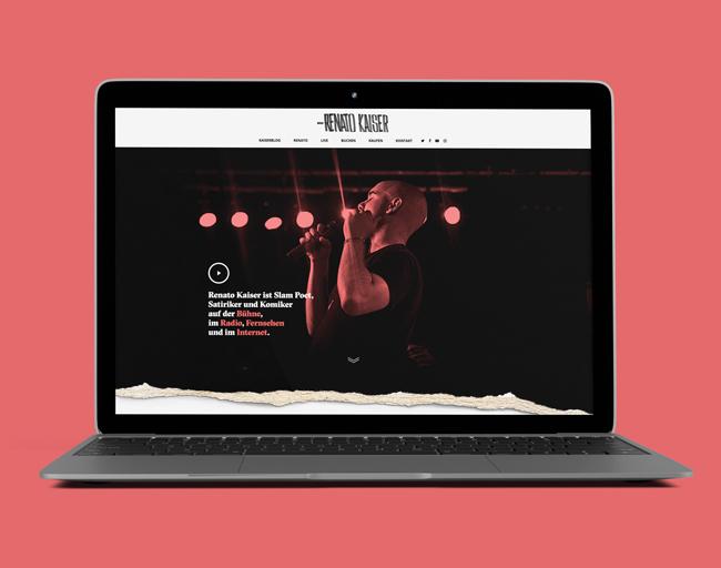 Homepage Renato Kaiser