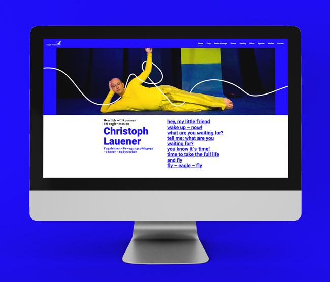 Neue Webseite für eagle-motion
